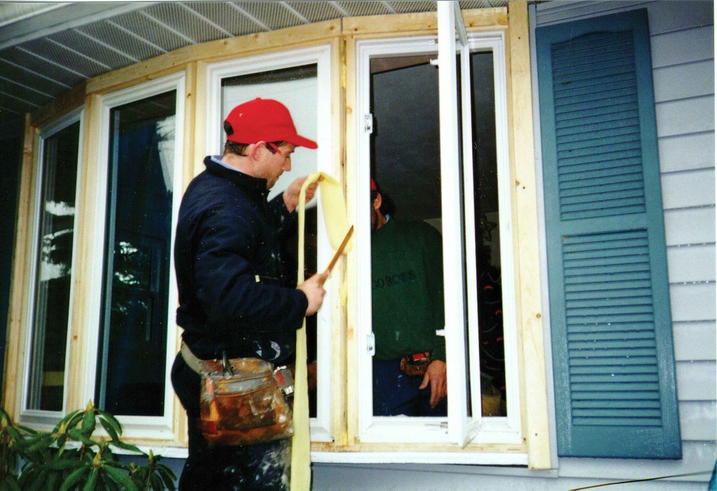 window replacement companies during work